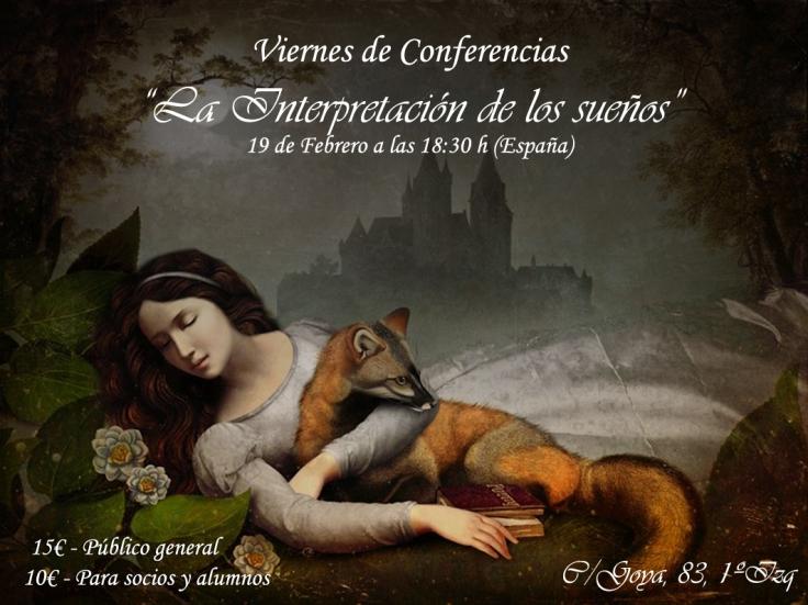 conferencia sueños 18.30